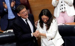 Puig cede una vicepresidencia a Unides Podem para salvar su investidura