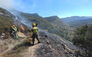 La sequía aumentará las «ocasiones de peligro» en la campaña contra incendios forestales en Burgos