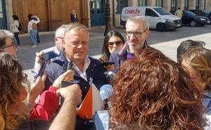 Cs considera «legítimo» que Marañón sea alcalde de Burgos y no aclara si aceptaría la entrada de Vox en el gobierno municipal