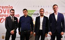 David Diez Basurto, de la empresa Homolocar, gana el Premio Joven Empresario Burgos 2019