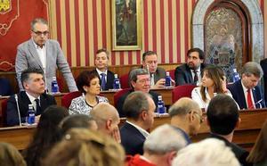 Martín asegura que De la Rosa es alcalde por «demérito» y reivindica el derecho a la moción de censura