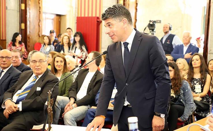 Toma de posesión de los nuevos concejales del Ayuntamiento de Burgos