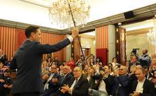 Investidura de Daniel de la Rosa como nuevo alcalde de Burgos