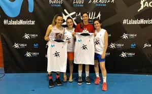 Cuatro equipos masculinos y cuatro femeninos lucharán por el trno de La Jaula Movistar en Burgos