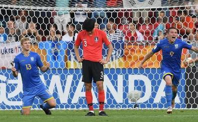 Ucrania se proclama campeona tras ganar Corea del Sur