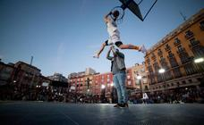 La Jaula Movistar toma la Plaza Mayor de Burgos