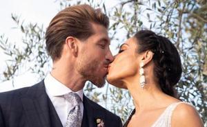 Así acabó la boda de Sergio Ramos y Pilar Rubio