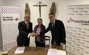 Cajacírculo e Ibercaja apoyan con 5.000 euros un proyecto humanitario de la Congregación Hijas del Calvario en Monzambique
