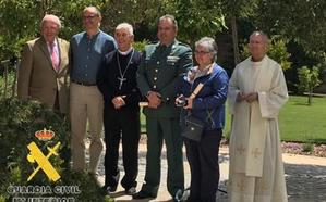 Homenajean al guardia civil Elías Javier Alonso por la extinción de un incendio en el Monasterio de Santa Clara de Belorado