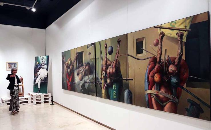 Exposición de Luis Sáez en el Museo de Burgos