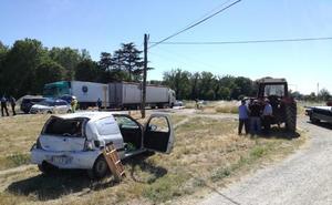 Los vecinos de Castañares exigen más seguridad en la travesía de la N-120 tras el último accidente mortal