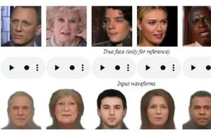 La inteligencia artificial reconstruye rostros a través de la voz