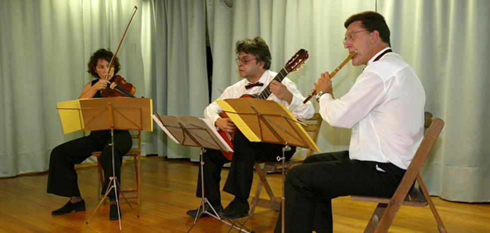Trío Duero ofrecerá un concierto este jueves en el centro asistencial Hermanas Hospitalarias de Burgos