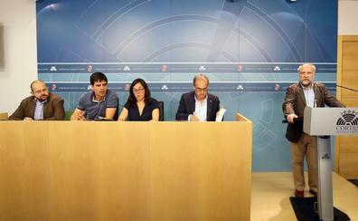 El frente de izquierdas reta a Igea a exigir la reversión del Hospital de Burgos en el pacto con el PP