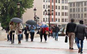 La provincia de Burgos, en alerta por fuertes lluvias y rachas de viento desde esta tarde