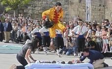Castrillo de Murcia celebra el día grande de las fiestas del Colacho
