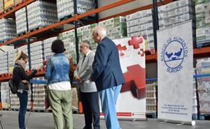 Cruz Roja repartirá más de 50.000 kilos de alimentos para ayudar a 2.510 personas desfavorecidas en Burgos