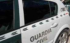 Dos heridos en una colisión de cuatro turismos en la AP-1 a la altura de Rubena
