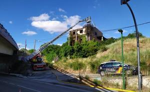 Incendio sin heridos en una vivienda abandonada del Paseo de los Pisones