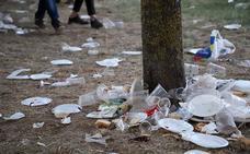 La Fiesta del Curpillos deja huella en El Parral con miles de kilos de basura y varias decenas de asistencias sanitarias