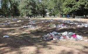 Lo que queda de El Parral: 27.000 kilos de basura y más de 150 asistencias sanitarias