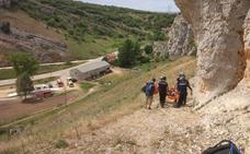 Evacuada al HUBU una escaladora al sufrir una caída en Villaverde - Peñahorada