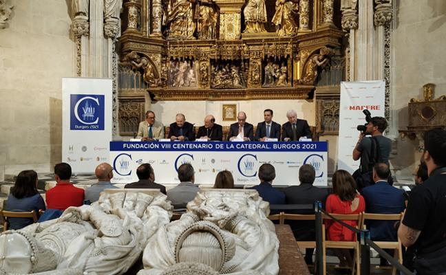 Mapfre patrocinará actividades culturales del centenario de la Catedral de Burgos