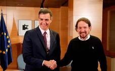 Sánchez vuelve a recibir a Iglesias para negociar la investidura