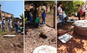 El grupo 'Una Salud' de la UBU instala contenedores domésticos para reducir virus y bacterías en áreas empobrecidas en Brasil
