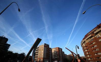 El impacto climático de las estelas de aviones puede triplicarse para 2050