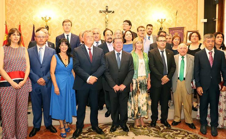 Pleno de constitución de la Diputación de Burgos