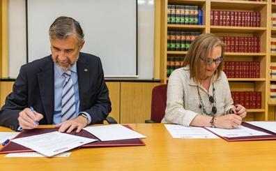 La UBU y CC OO firman un convenio para la organización y gestión de actividades formativas y de orientación