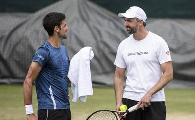 Ivanisevic, en el equipo técnico de Djokovic