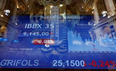 El G-20 surte efecto y el Ibex-35 cierra al alza con sólo tres valores en rojo