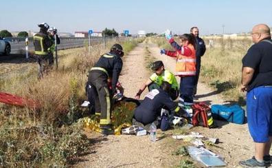 Cuatro personas heridas en tres accidentes de tráfico en la provincia burgalesa