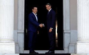 Mitsotakis se compromete a «cambiar Grecia»