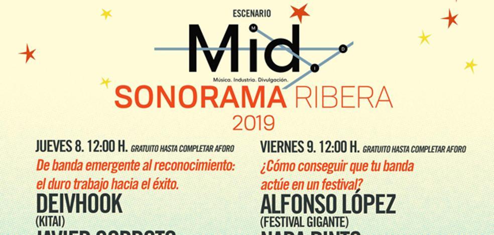 Sonorama Ribera incluirá charlas sobre la industria musical