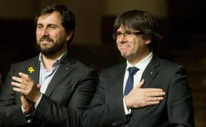 El Supremo multa a Puigdemont y Comín con 3.000 euros por mala fe procesal