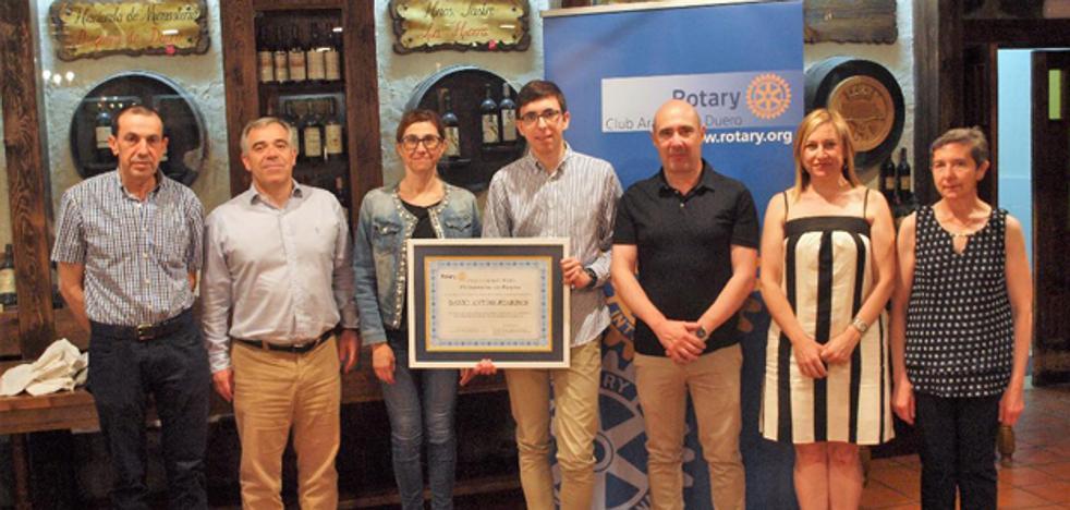 El Club Rotario de Aranda entrega el Premio 'Protagonistas del Mañana'