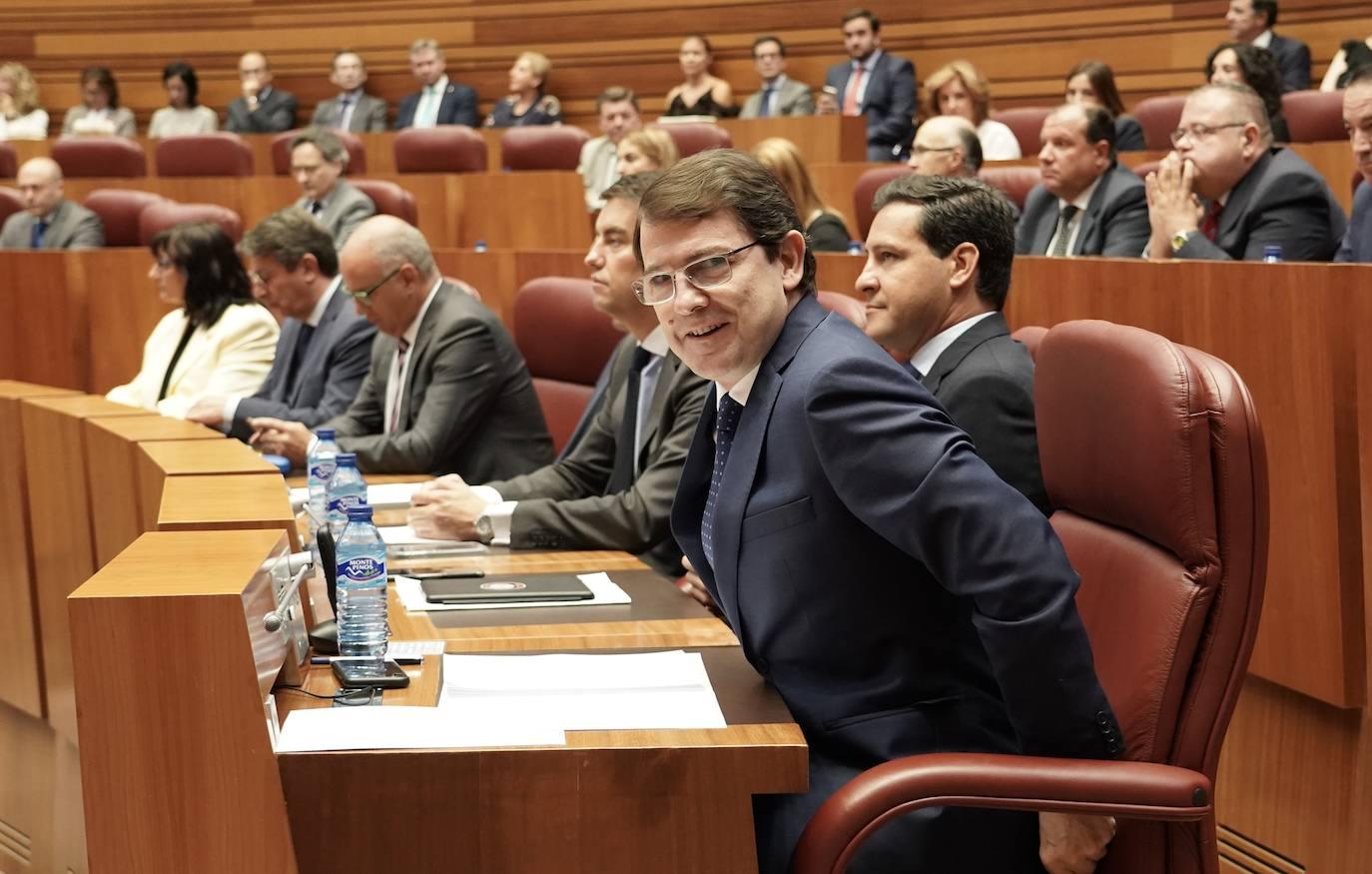 Mañueco verbaliza su acuerdo con Cs para formar un gobierno «de actos»