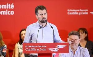 Tudanca acusa a Mañueco de usar Castilla y León «como ariete para el odio»