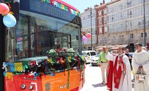 San Cristóbal protegerá un año más a los conductores de Burgos