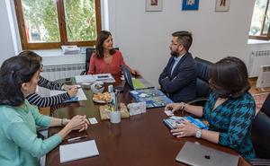 Una delegación de la Pontificia Universidad Católica de Puerto Rico visita la UBU