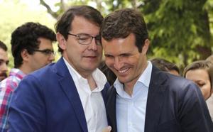 Mariano Rajoy y Pablo Casado arroparán a Mañueco en su toma de posesión como presidente de Castilla y León