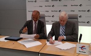 Ibercaja y la Cámara de Comercio de Burgos renuevan su convenio para la realización del ciclo 'Circulo de Actualidad Empresarial'