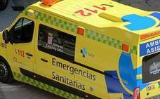 Herido un motorista de 48 años tras sufrir una caída en la AP-1