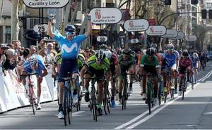 Una rotura de clavícula hace peligrar la participación de Carlos Barbero en la Vuelta a Burgos