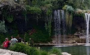 Fallece ahogado un joven tras lanzarse desde la cascada de Pedrosa de Tobalina