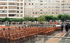 La lluvia obliga a suspender la apertura del Festival de Folclore 'Ciudad de Burgos'