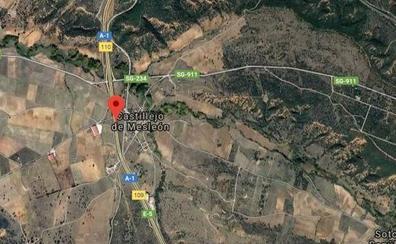 Muere atropellado un burgalés que acababa de sufrir un accidente cerca de Castillejo de Mesleón (Segovia)